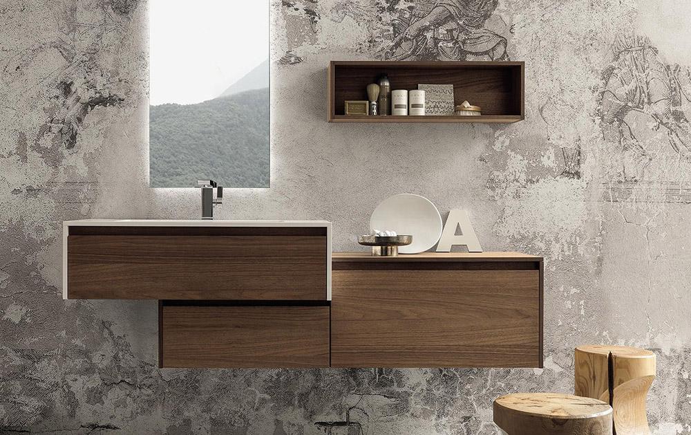 Комплект мебели для ванной Laura 2