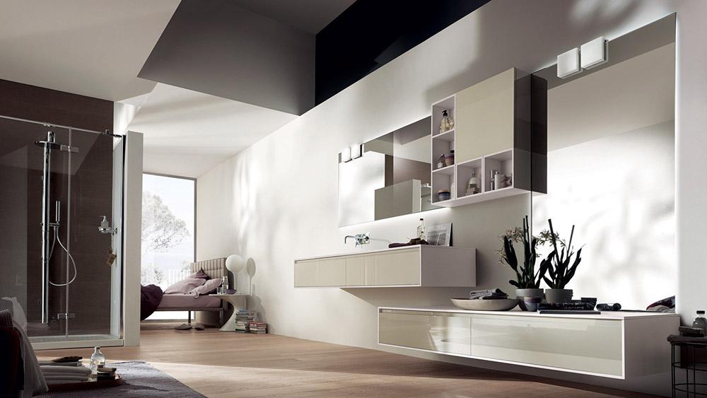 Комплект мебели для ванной Paloma-1