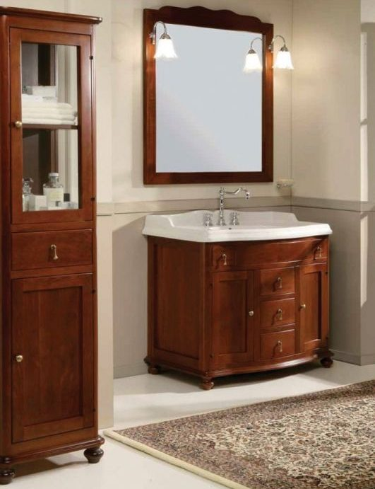 Шкаф для ванной Ciliegio