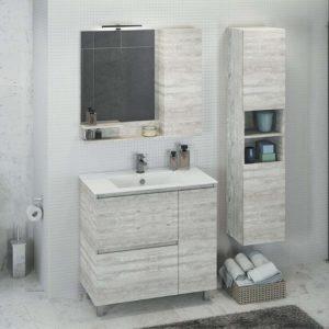 Шкаф-колонна для ванной Верона