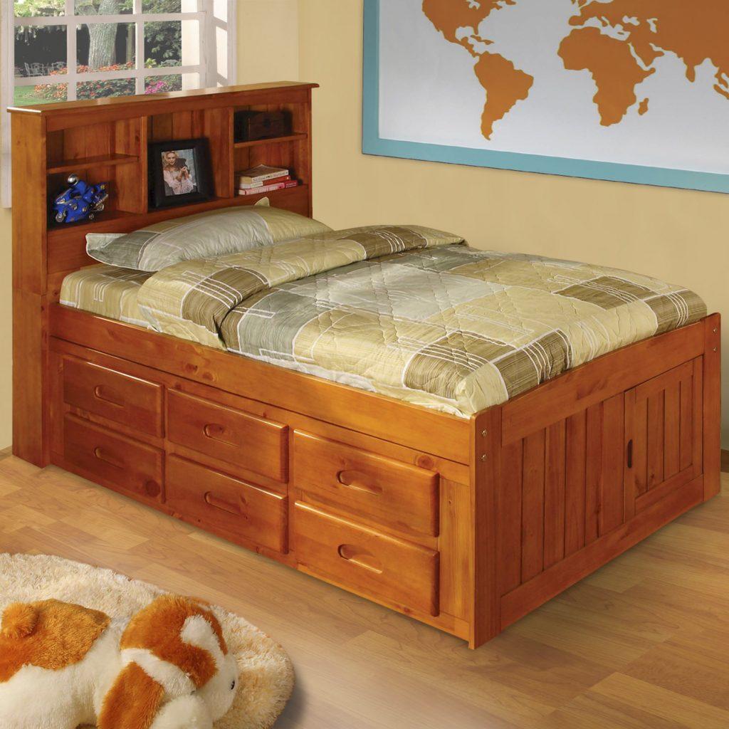 Кровать с ящиками для хранения Varna