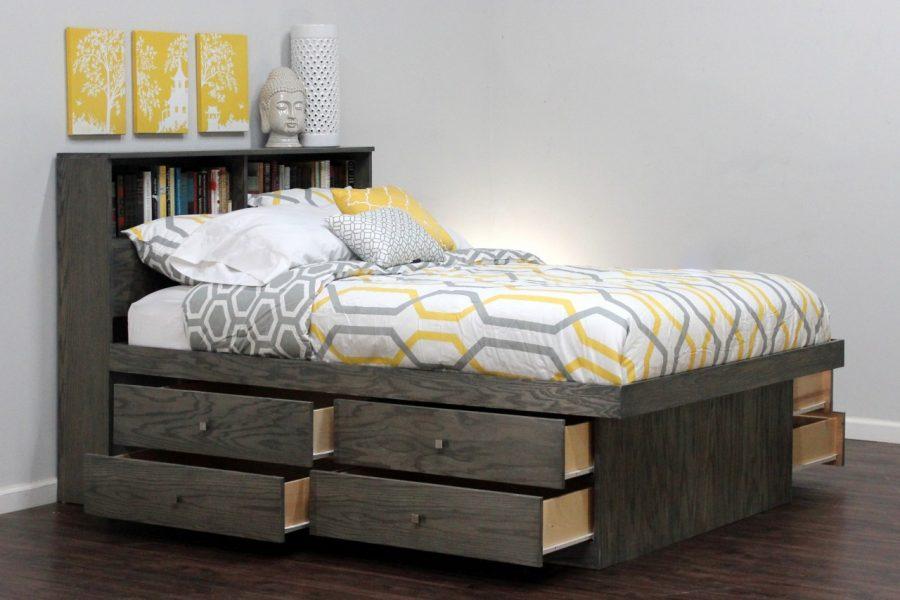 Кровать с ящиками для хранения Керулен