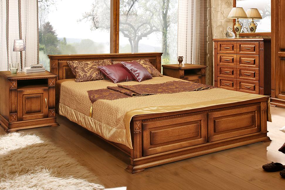 Кровать двуспальная Bourbon