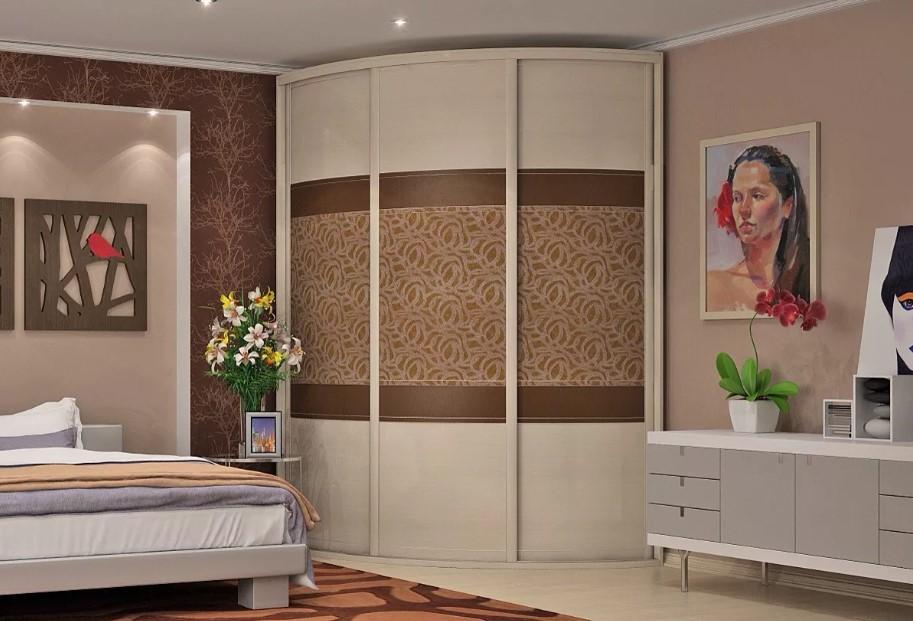 Шкаф-купе в спальню Суматра