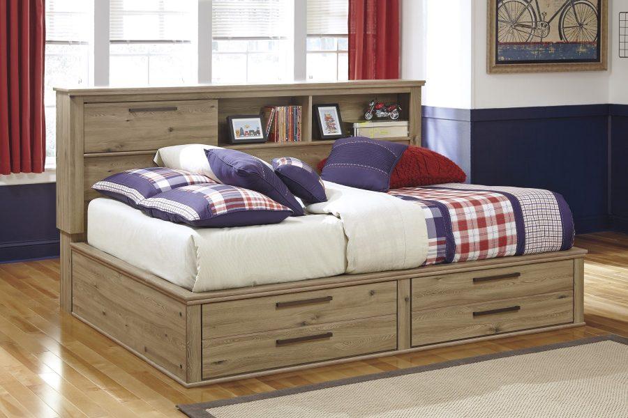 Кровать с ящиками для хранения Авельон