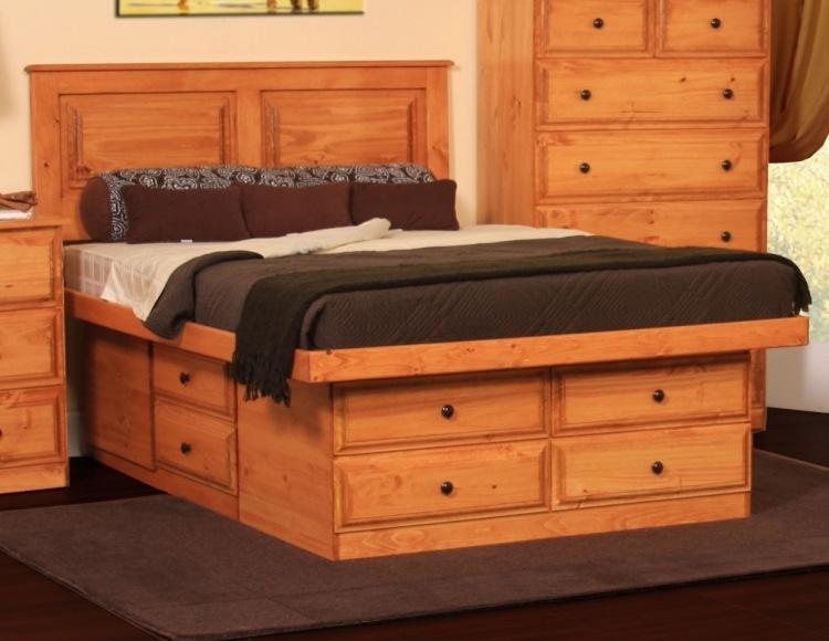 Кровать с ящиками для хранения Bono