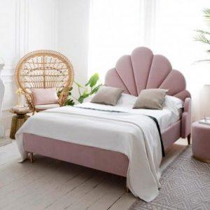 Мягкая кровать с подъёмным механизмом Romilda