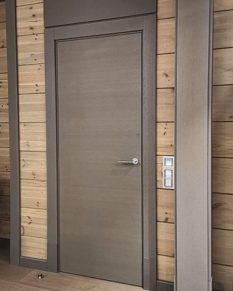 Межкомнатные двери на алюминиевом каркасе