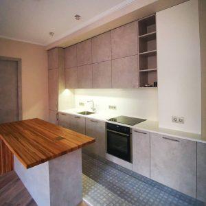 Стильная кухня с фасадами alvic