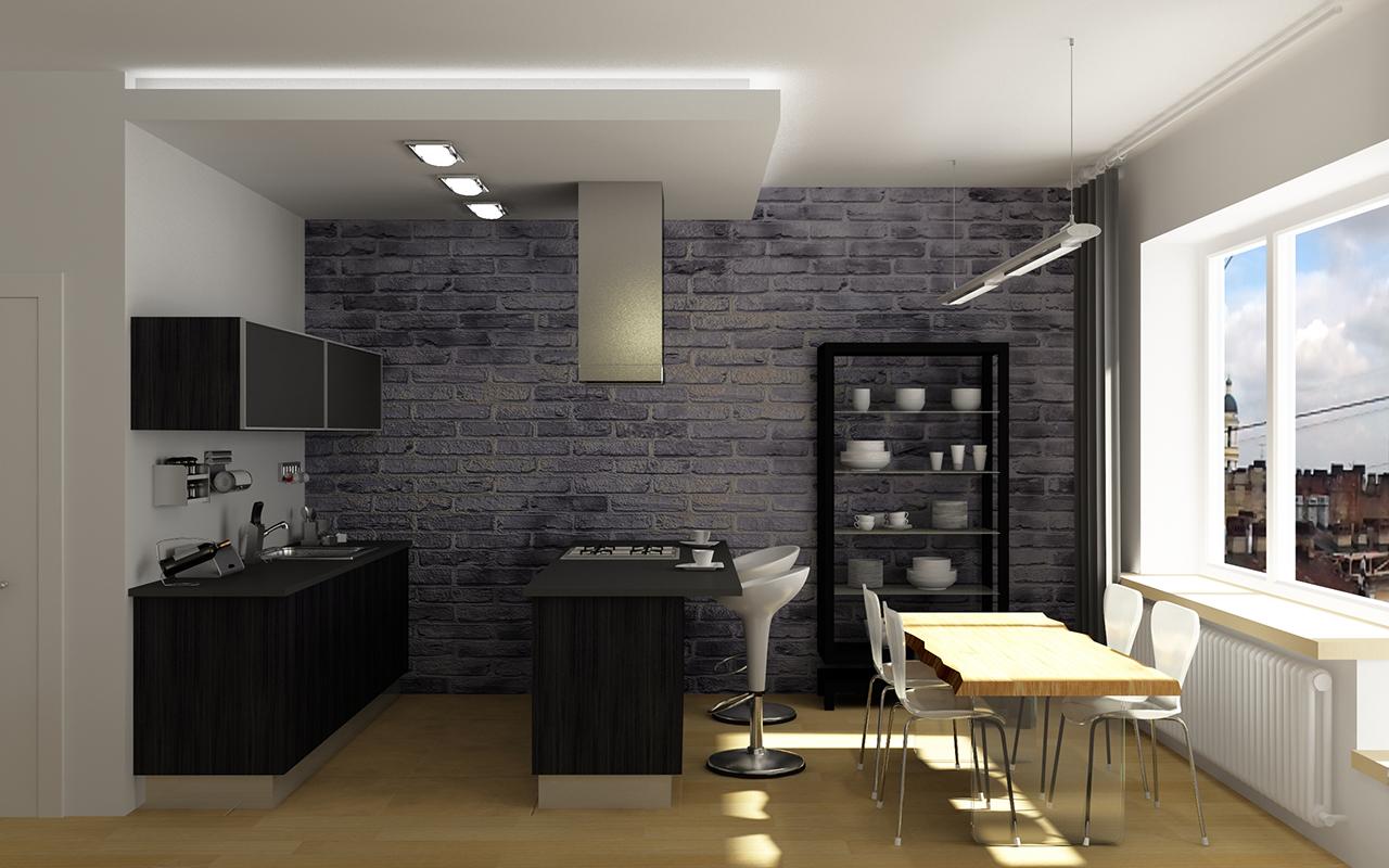 Дизайн кухни в СПб