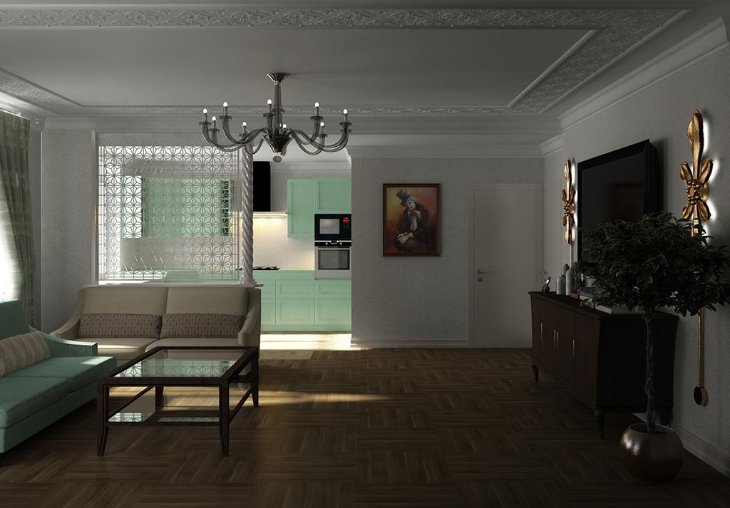 Проект кухни в СПб