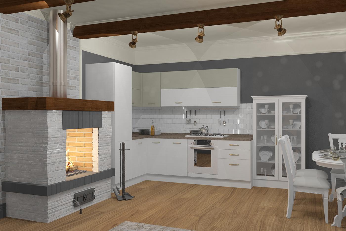 Дизайн-проект кухни в СПб