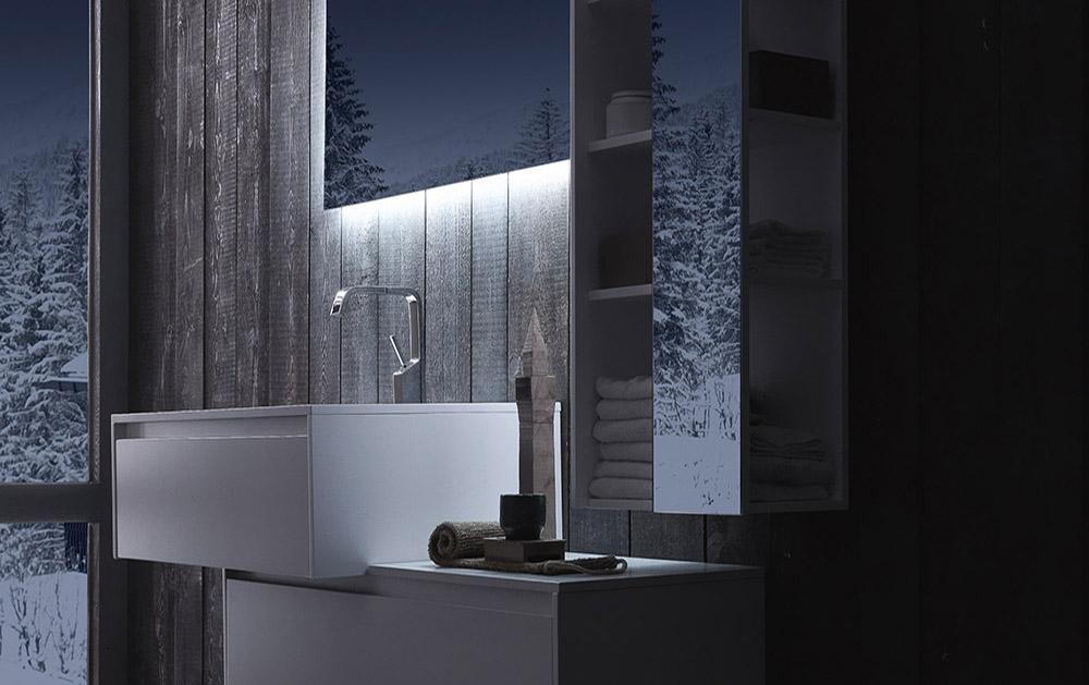 Комплект мебели для ванной Laura 1