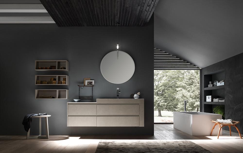 Комплект мебели для ванной Reina