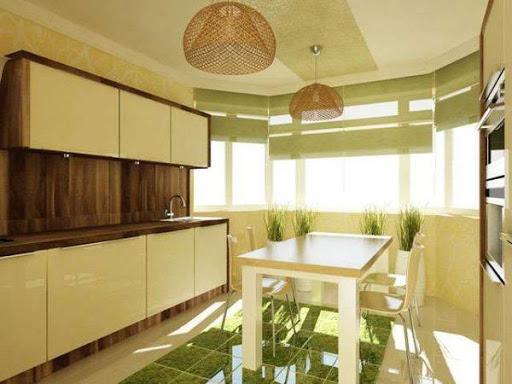 Кухни с эркером от Alicante