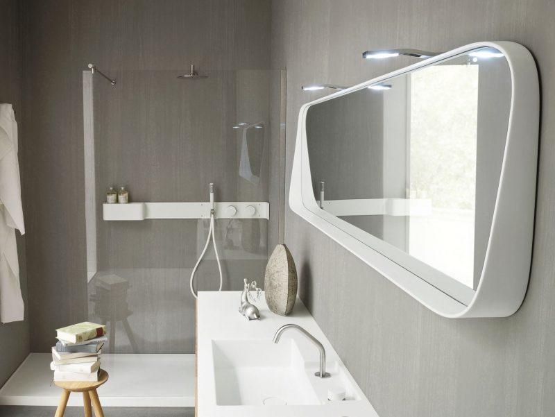 Зеркало для ванной Steel