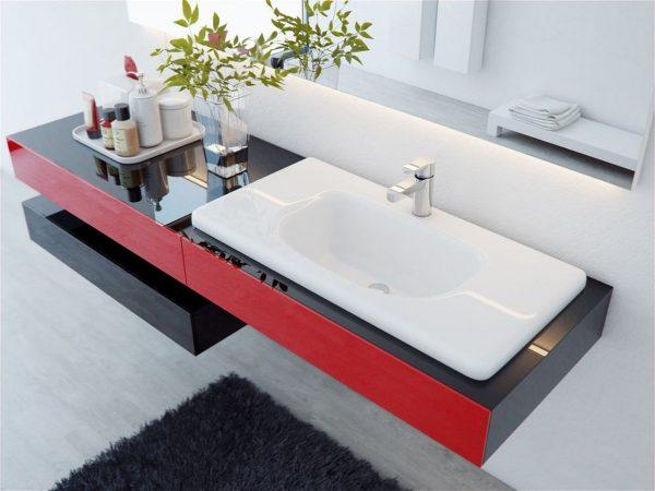 Столешница под раковину для ванной Euro