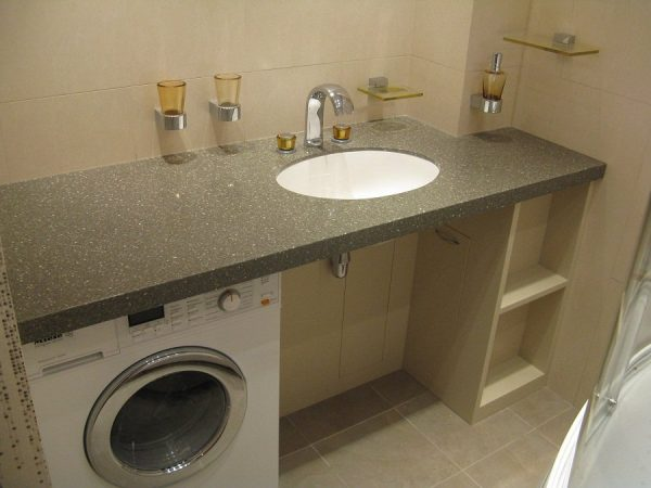 Столешница под раковину для ванной CORALLO