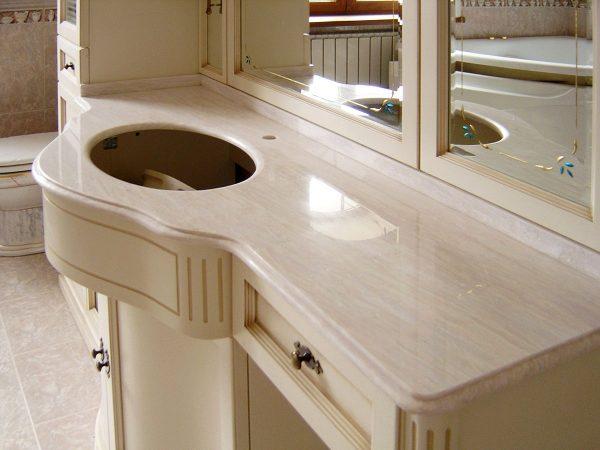 Столешница под раковину для ванной EDEN