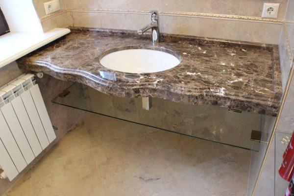 Столешница под раковину для ванной Dama
