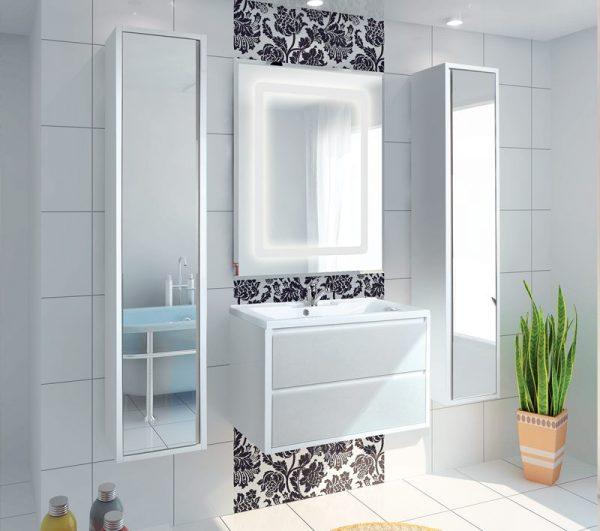 Шкаф-колонна для ванной Римини