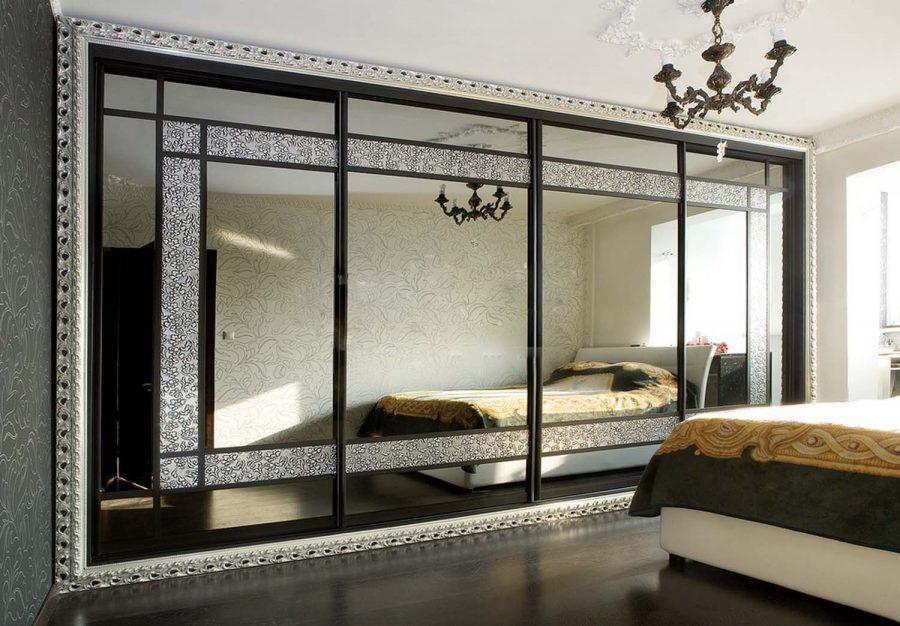 Шкаф-купе в спальню Рио