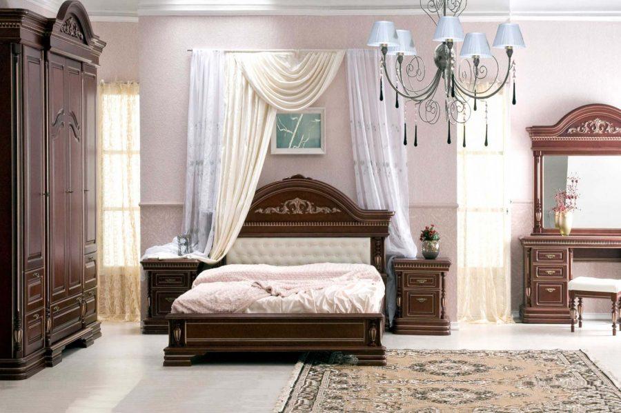 Спальный гарнитур Ломбардия