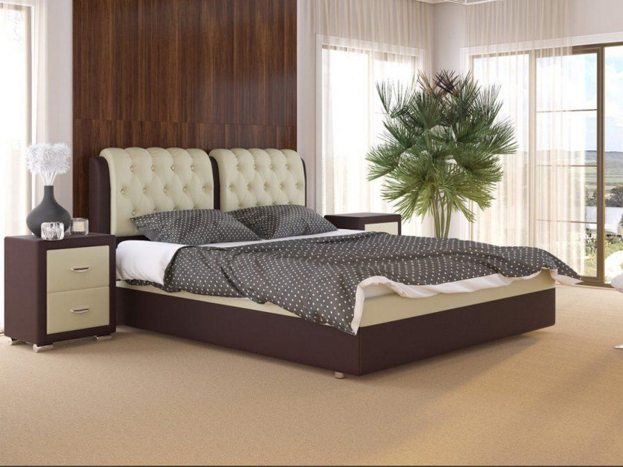 Кровать двуспальная Natura
