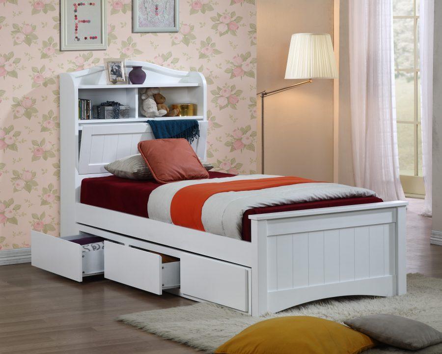 Кровать с ящиками для хранения Бельфор