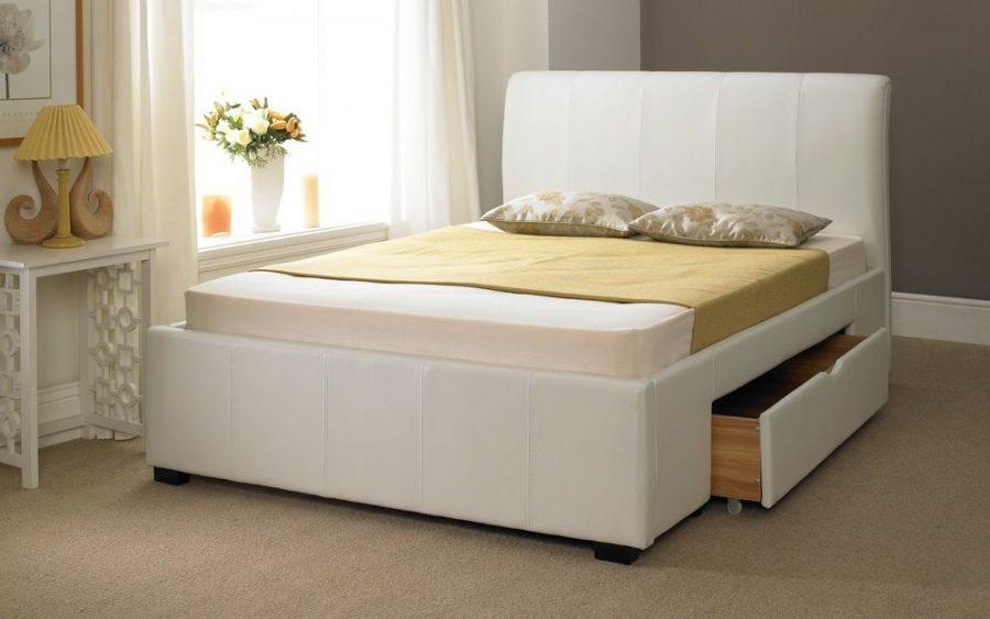 Кровать с ящиками для хранения Кредо