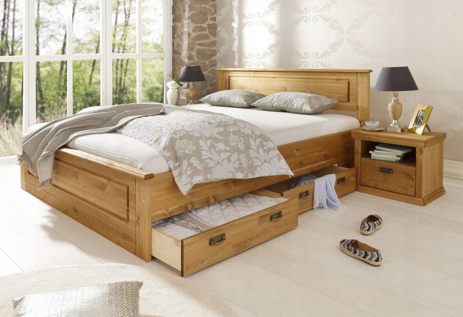 Кровать с ящиками для хранения Гранд