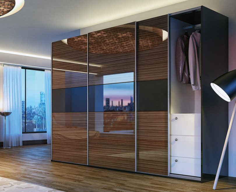 Шкаф-купе в спальню Прайм