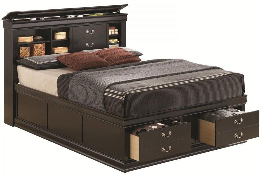 Кровать с ящиками для хранения Бриз