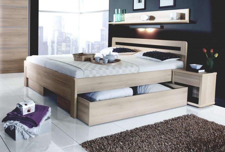 Кровать с ящиками для хранения Веста