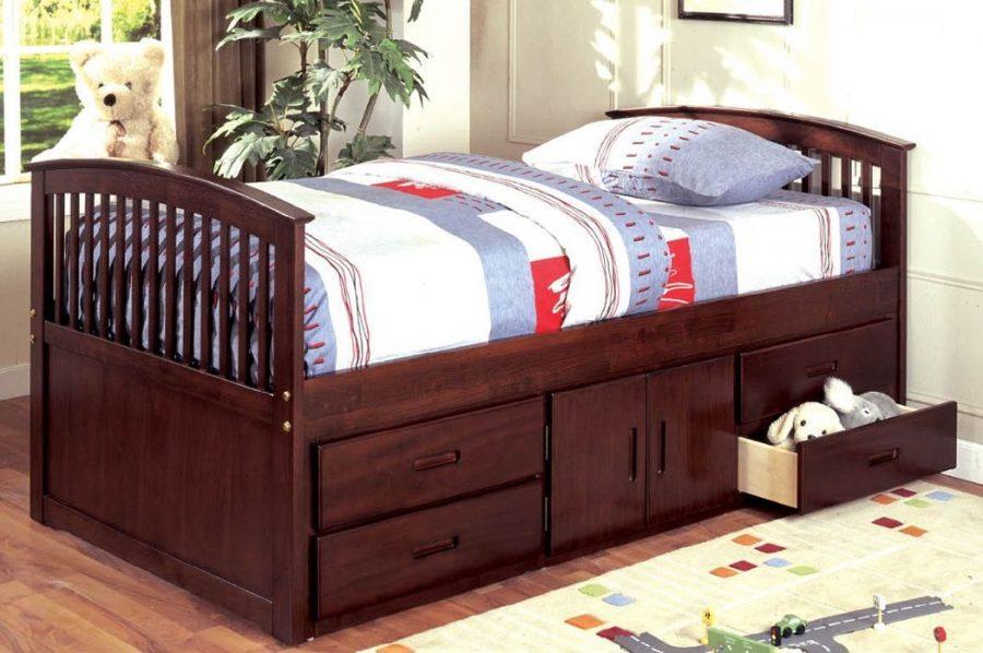 Кровать с ящиками для хранения Эдем