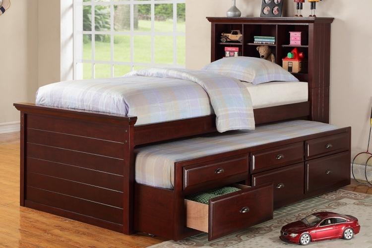 Кровать с ящиками для хранения Виктория