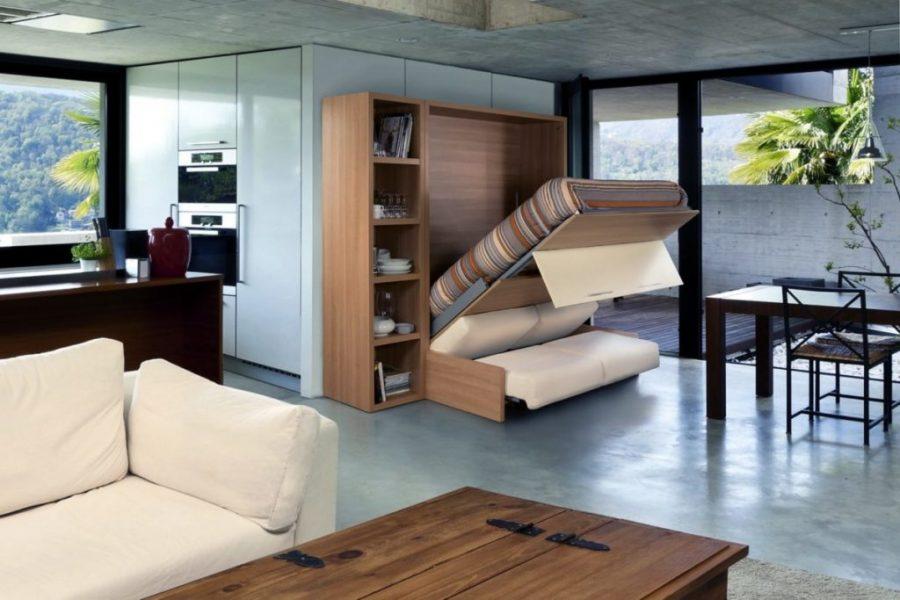 Шкаф-кровать Бела