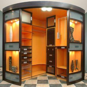 Шкаф гардеробный Рико