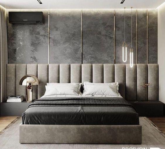Мягкая кровать с подъёмным механизмом Ernesto