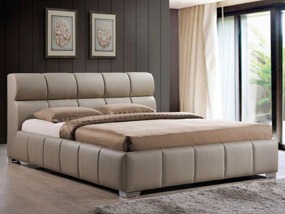 Мягкая кровать с подъёмным механизмом Julia
