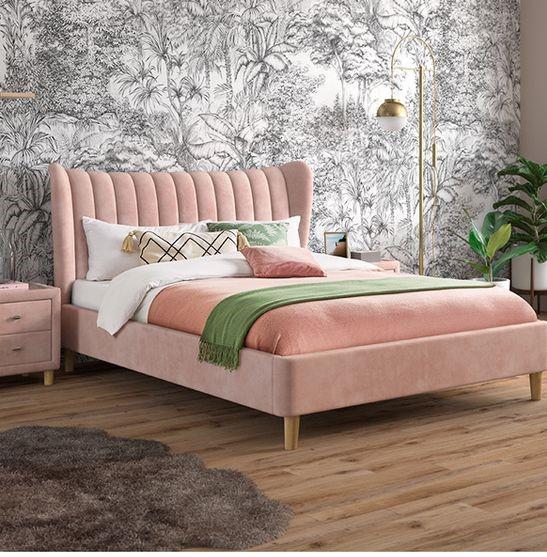 Мягкая кровать с подъёмным механизмом Gillo