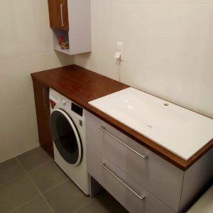 Мебель в сан узел по индивидуальному заказу