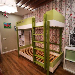 Детская кровать двухярусная кровать